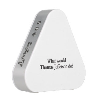 What would thomas jefferson do bluetooth speaker