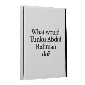 what would tunku abdul rahman do iPad folio covers