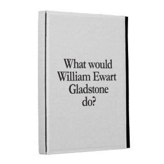 what would william ewart gladstone do iPad folio covers