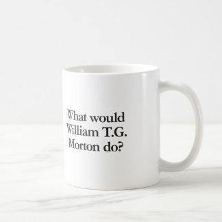 what would william t g morton do coffee mug