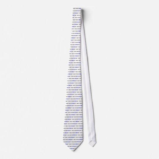 What Would YOGI Do? Neck Tie