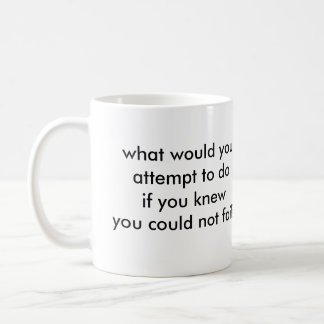 What would you do? coffee mug