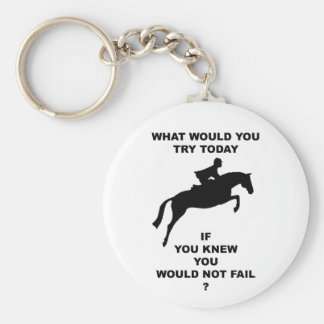 What Would You Do...Hunter Jumper Key Chains