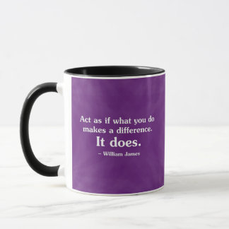 What you do can make a difference 2 mug