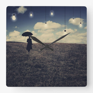 What You don't Want To see - Surreal Wall Clock