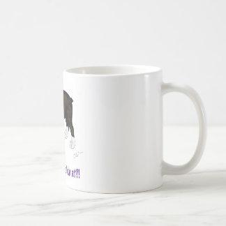 What you looking at? mug