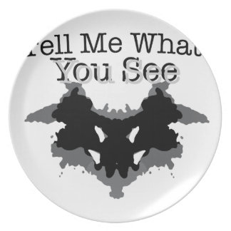 What You See Dinner Plate