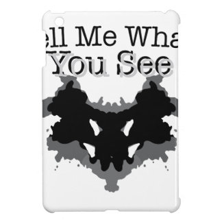 What You See iPad Mini Cover