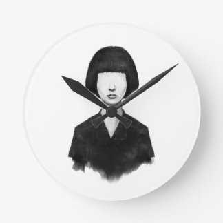 What you see is what you get round wall clock