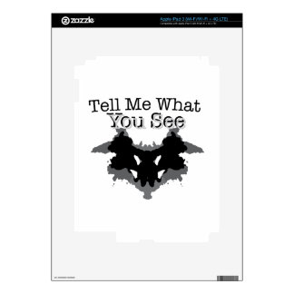 What You See Skins For iPad 3
