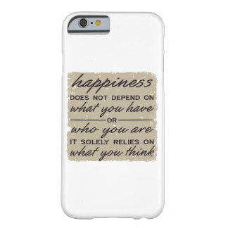 What You Think Barely There iPhone 6 Case