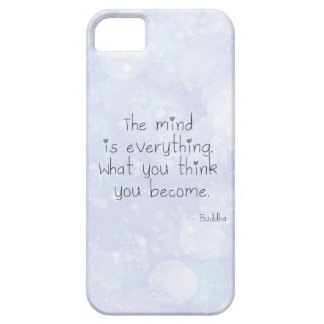 What You Think You Become iPhone 5 Cover