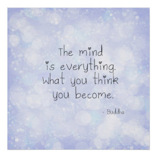 What You Think You Become Poster