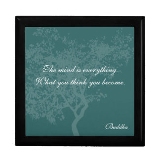What You Think You Become Quote - Buddha Boxes