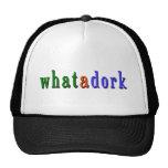 whatadork2 gorro de camionero