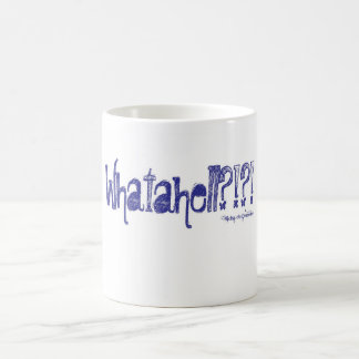 Whatahell Azul Coffee Mug