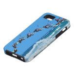 Whatch que practica surf hacia fuera Downwinds de  iPhone 5 Case-Mate Cobertura