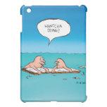 Whatcha Doing Funny Shipwreck Cartoon  iPad Mini Case