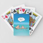 Whatcha Doing? Shipwreck Cartoon Poker Deck