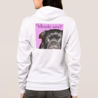 Whatcha Eatin Women's Fleece Zip Hoodie