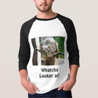 Whatcha Lookin' at? Squirrel T-Shirt