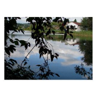 Whatcom Creek Waterway Business Card Template