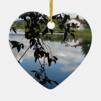 Whatcom Creek Waterway Ceramic Ornament
