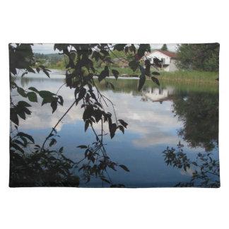 Whatcom Creek Waterway Cloth Place Mat