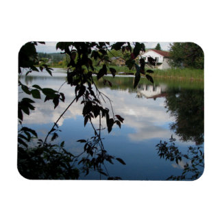 Whatcom Creek Waterway Rectangular Photo Magnet