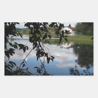 Whatcom Creek Waterway Rectangular Sticker