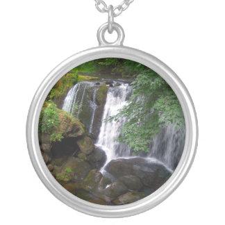 Whatcom Falls Round Pendant Necklace