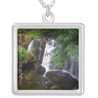 Whatcom Falls Square Pendant Necklace