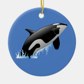 Whate Christmas Ornament