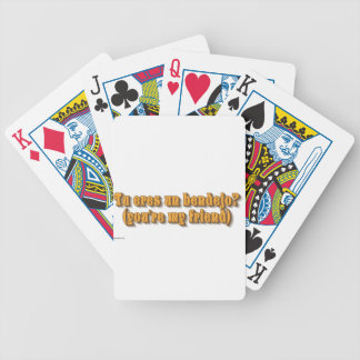 whatever bicycle playing cards