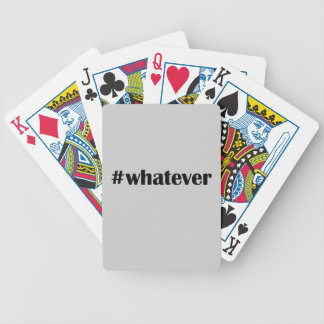 #whatever Card -Statement, Quote