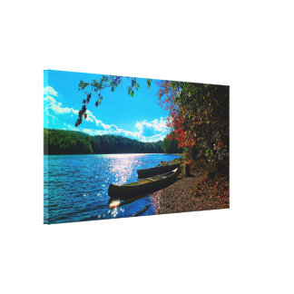 Whatever Floats Your Boat! Stretched Canvas Prints
