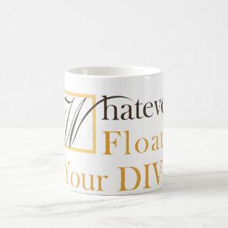 Whatever Floats Your DIV Classic White Coffee Mug