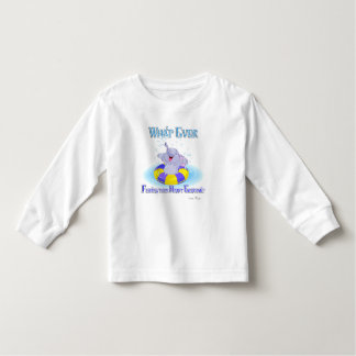 Whatever Floats Your Happy Elephant Toddler T-shirt