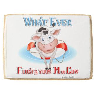 Whatever Floats Your Moo Cow Jumbo Cookie
