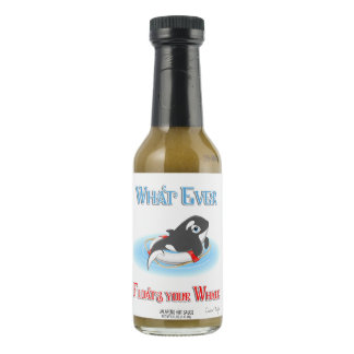 Whatever Floats Your Whale Hot Sauce