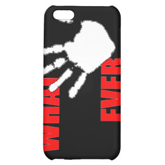 Whatever. Funny and Cynical Insult. Case For iPhone 5C