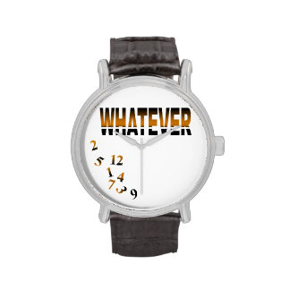 Whatever   gold wrist watch
