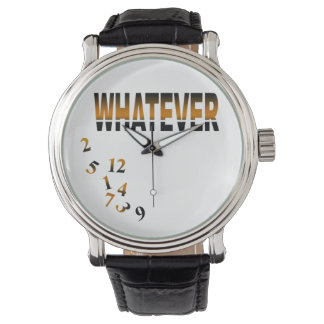 Whatever   gold wristwatches