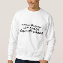 Whatever Happens - 2nd Grade Sweatshirt