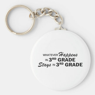 Whatever Happens - 3rd Grade Keychain
