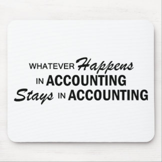 Whatever Happens - Accounting Mouse Pad