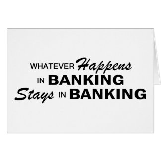 Whatever Happens - Banking Card