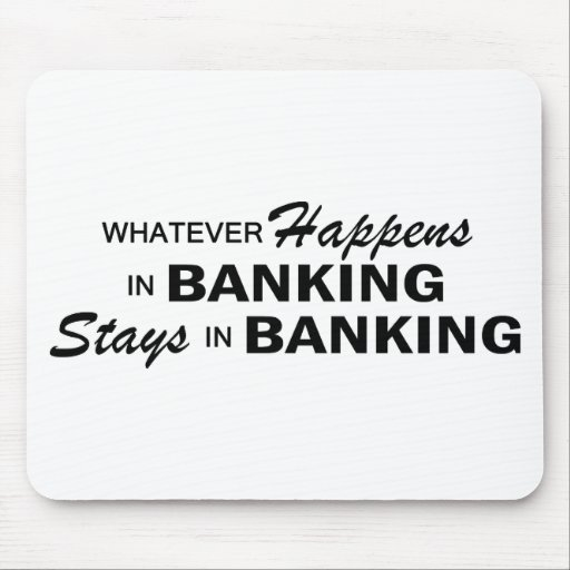 Whatever Happens - Banking Mouse Pad