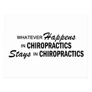 Whatever Happens - Chiropractics Postcard