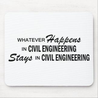 Whatever Happens - Civil Engineering Mouse Pad